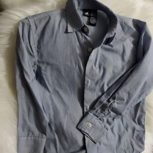 Boys Nautica size 7 long sleeve button down shirt